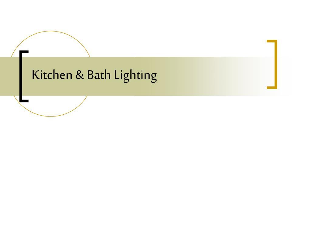 kitchen bath lighting