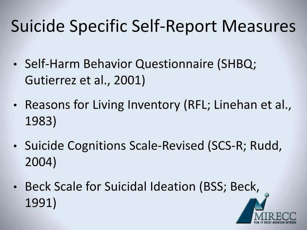 Beck Scale For Suicidal Ideation Bss Download