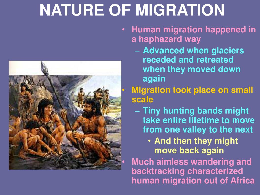 NATURE OF MIGRATION