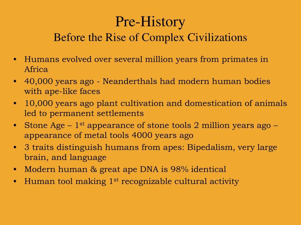 Pre-History