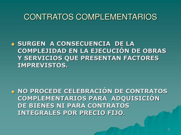 Contratos complementarios1