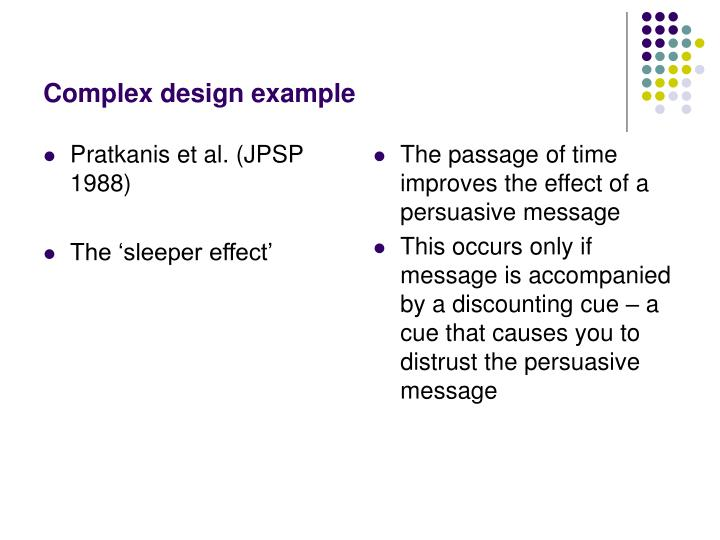 Pratkanis et al. (JPSP 1988)