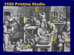 1550 printing studio