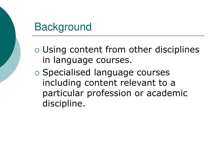 Ppt Content Based Language Instruction Powerpoint Presentation