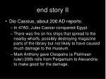 end story ii