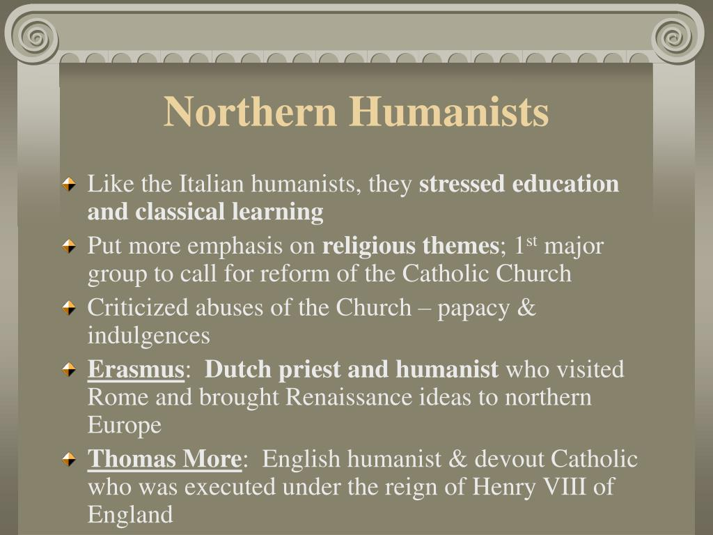 Northern Humanists
