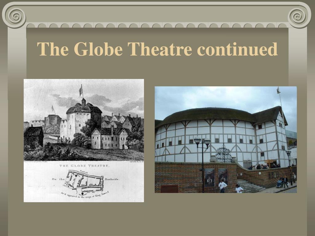 The Globe Theatre continued