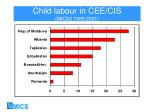 child labour in cee cis mics2 1999 2001