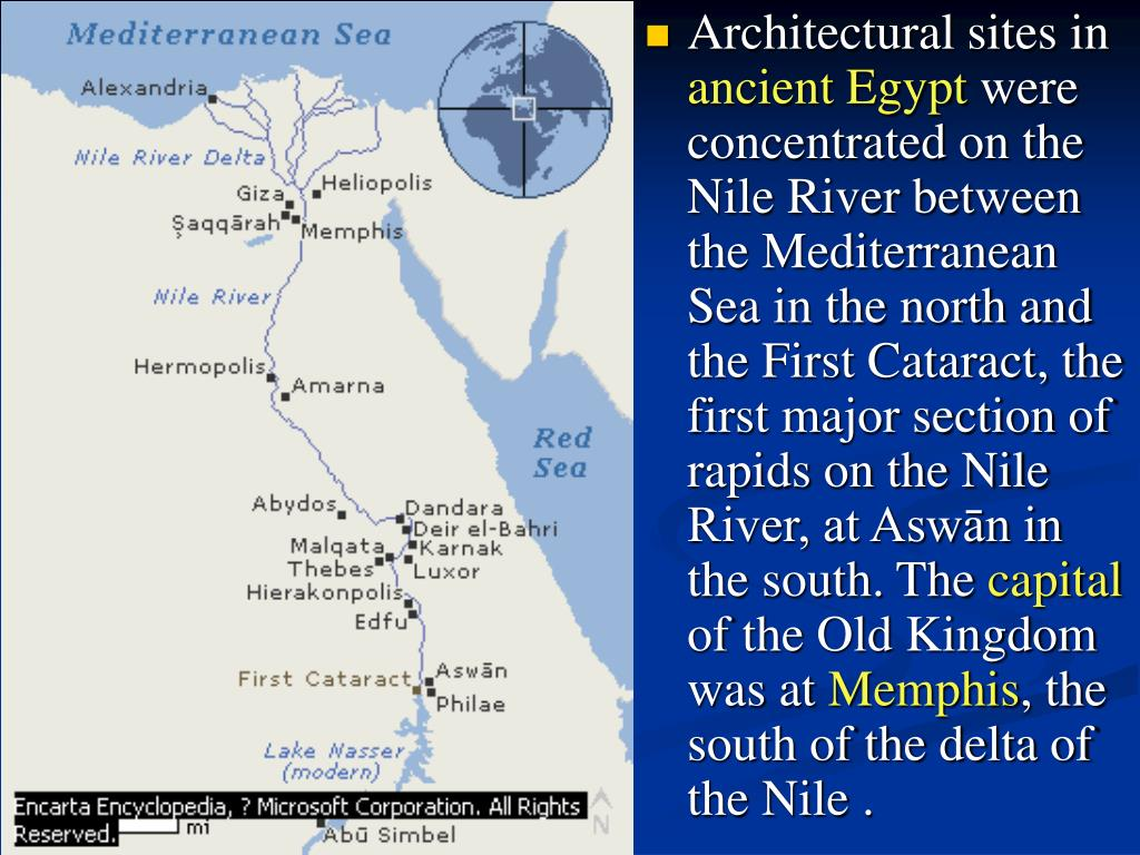 Architectural sites in