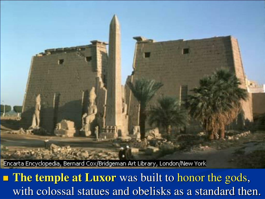 The temple at Luxor