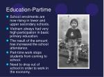 education partime16