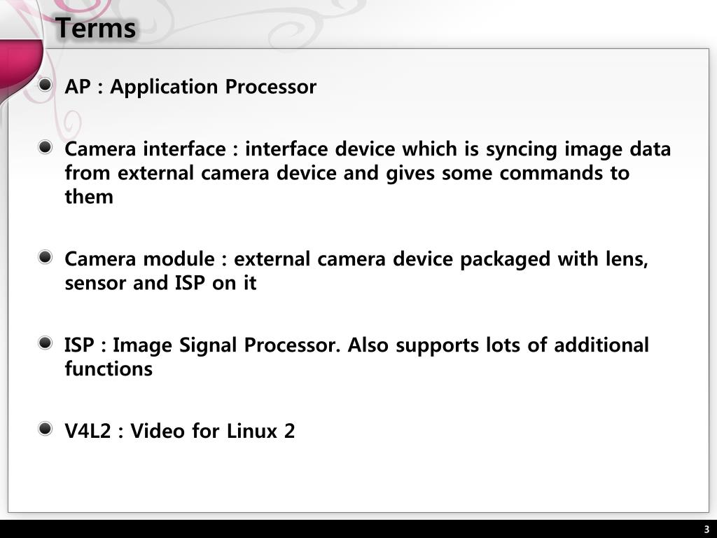PPT - Framework for digital camera in Linux PowerPoint