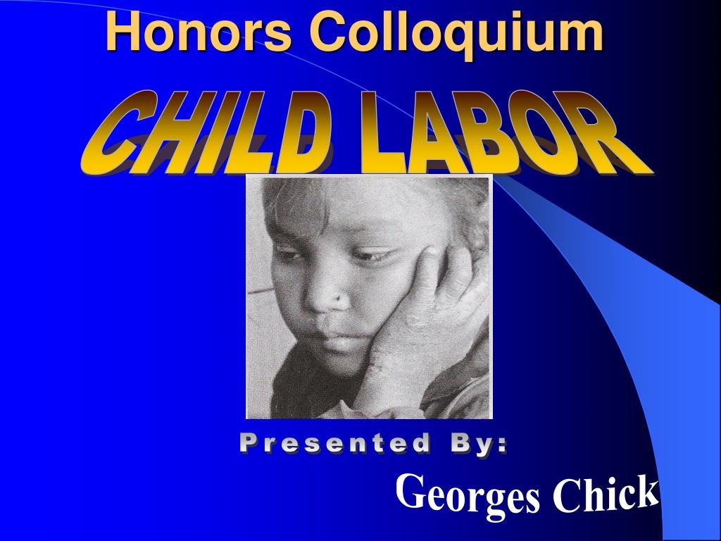 honors colloquium