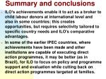 summary and conclusions35
