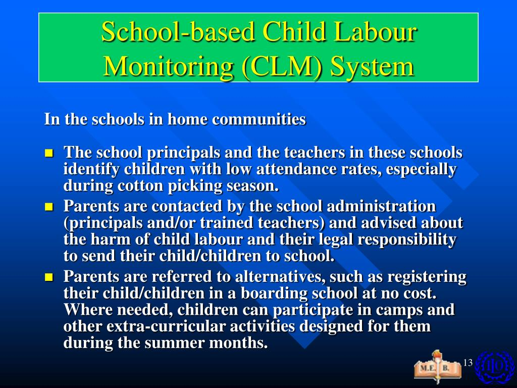 School-based Child Labour Monitoring