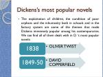 dickens s most popular novels