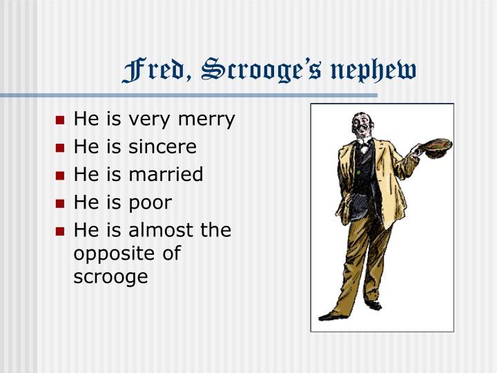 Fred scrooge s nephew