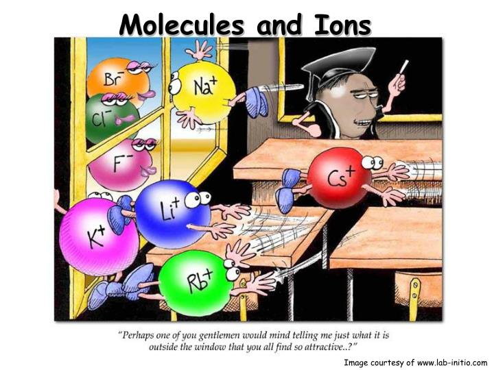 molecules and ions n.