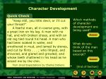 character development4