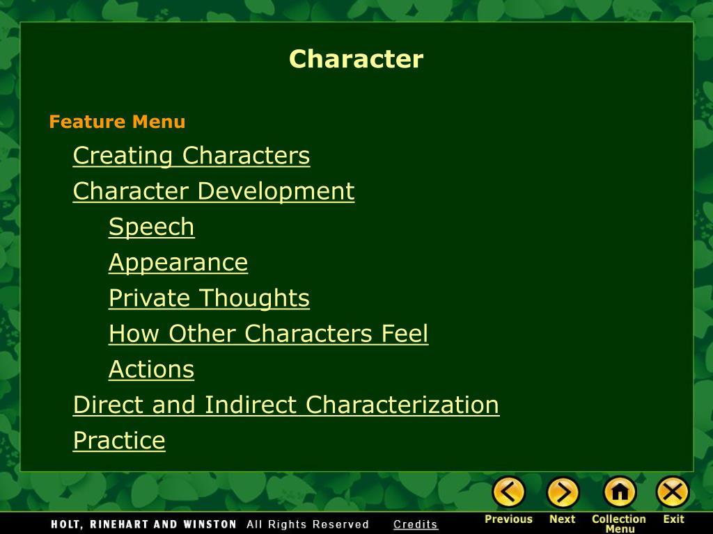 character l.