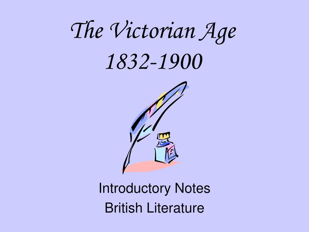 the victorian age 1832 1900 l.