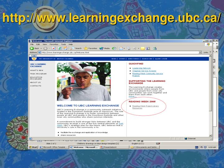 Http www learningexchange ubc ca