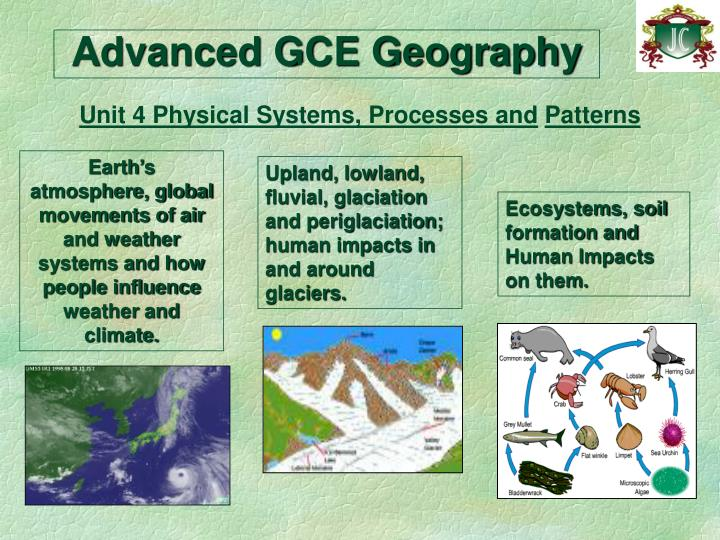 Advanced GCE Geography