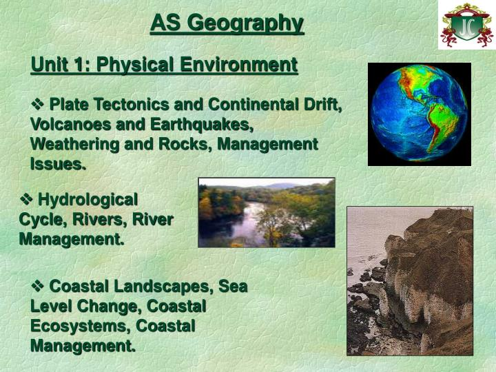 As geography