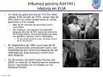 influenza porcina a h1n1 historia en eua