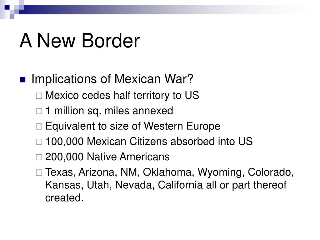 A New Border