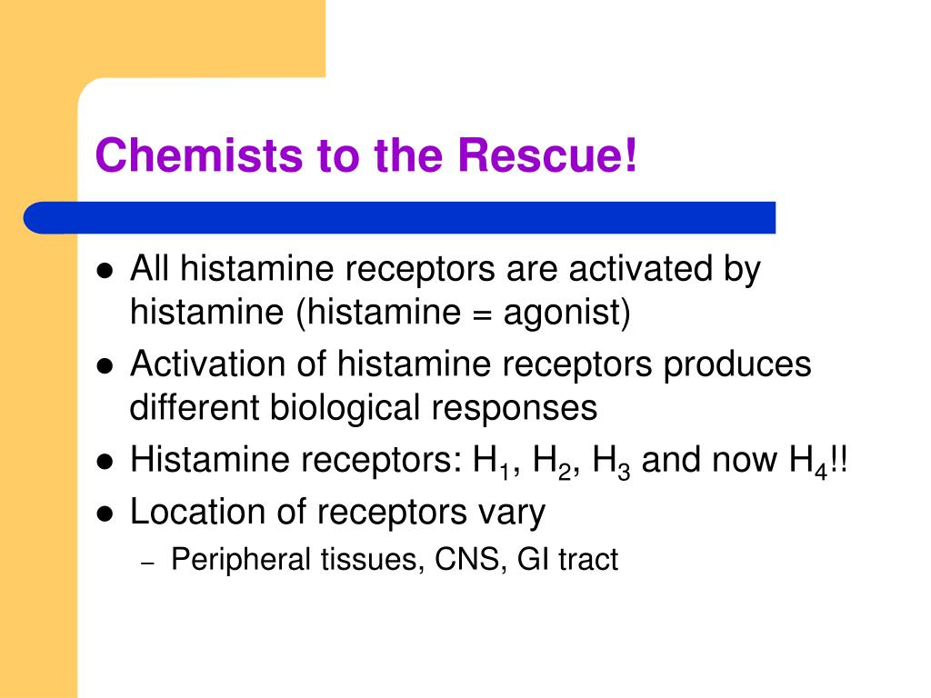 Chemists to the Rescue!