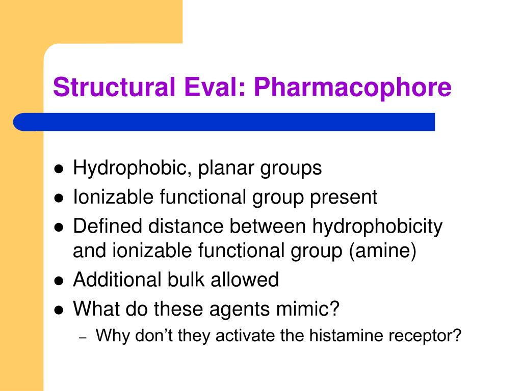 Structural Eval: Pharmacophore