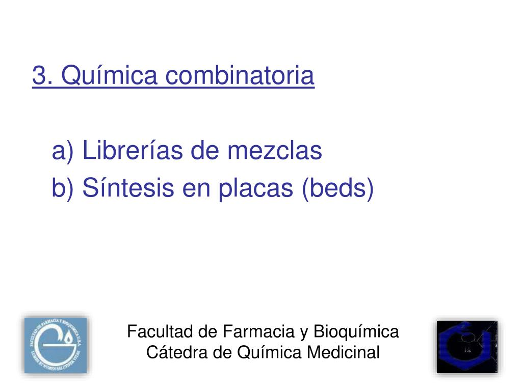 Facultad de Farmacia y Bioquímica