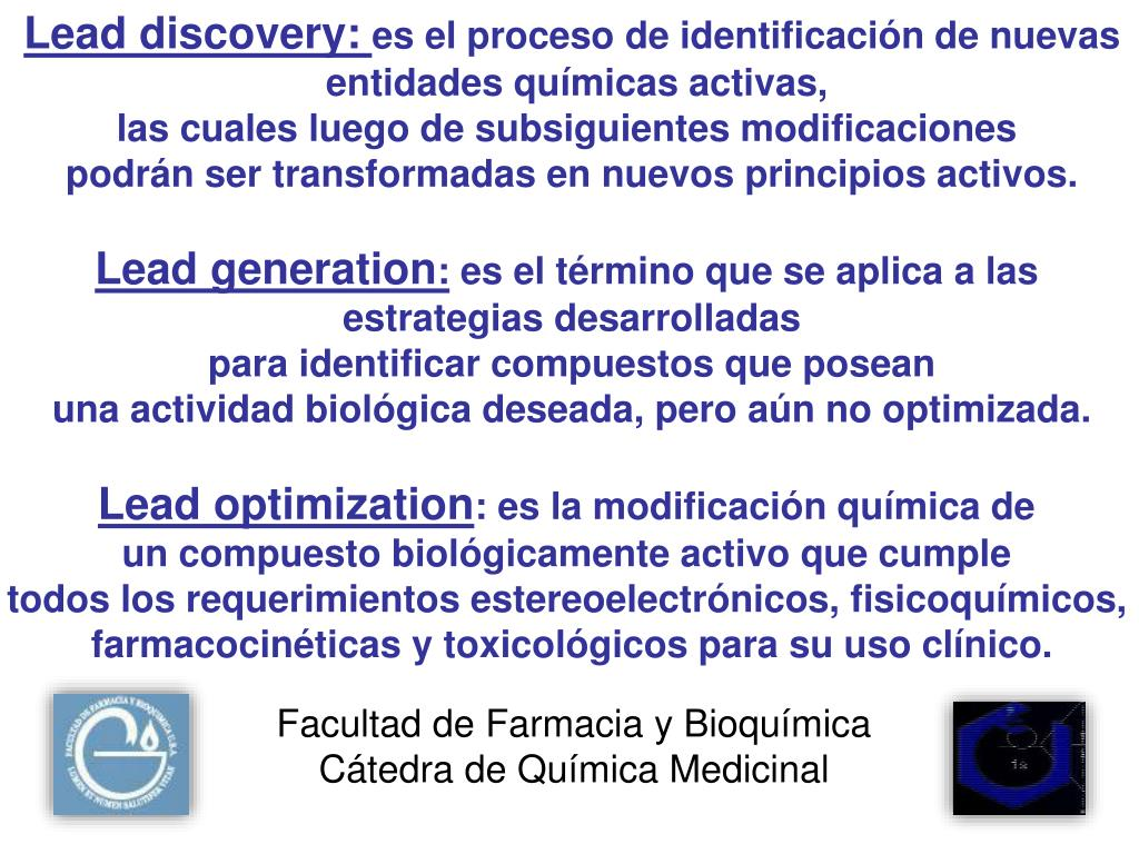 Lead discovery: