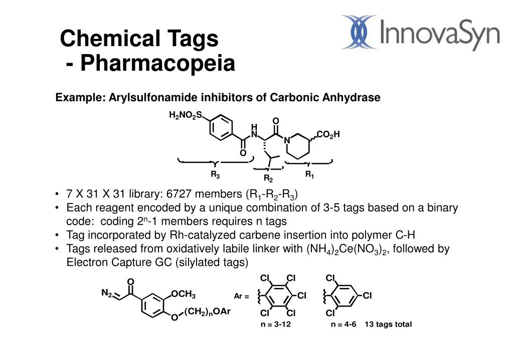 Chemical Tags