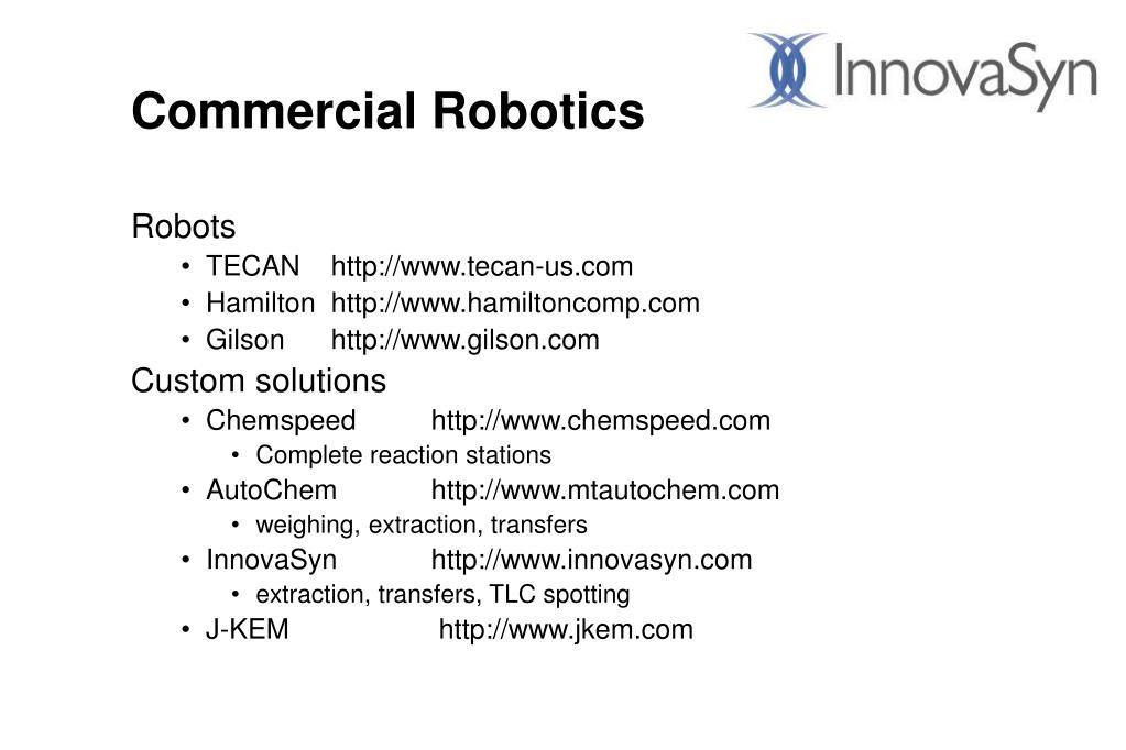 Commercial Robotics