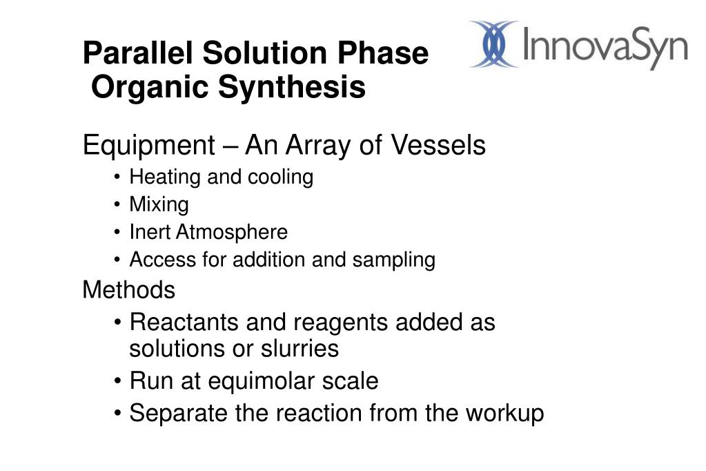 Parallel Solution Phase