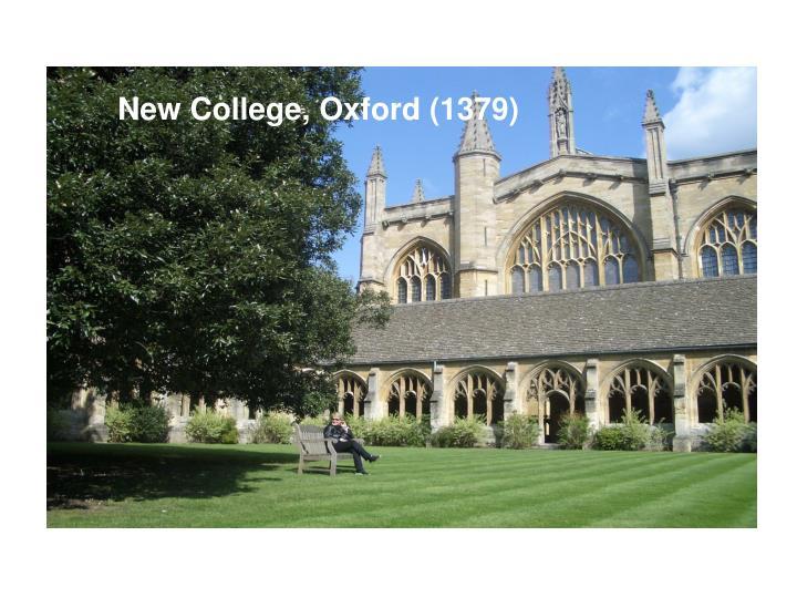 New College, Oxford (1379)