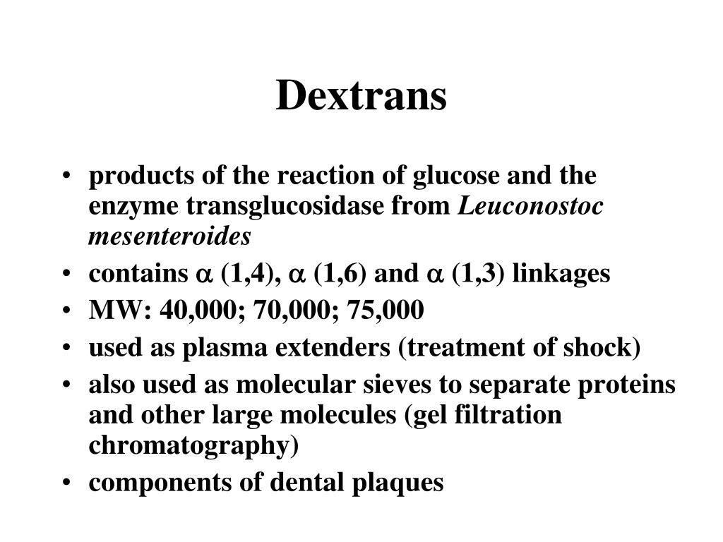 Dextrans