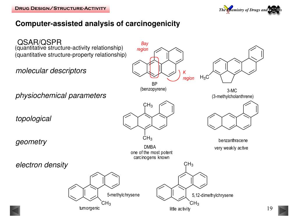 Computer-assisted analysis of carcinogenicity
