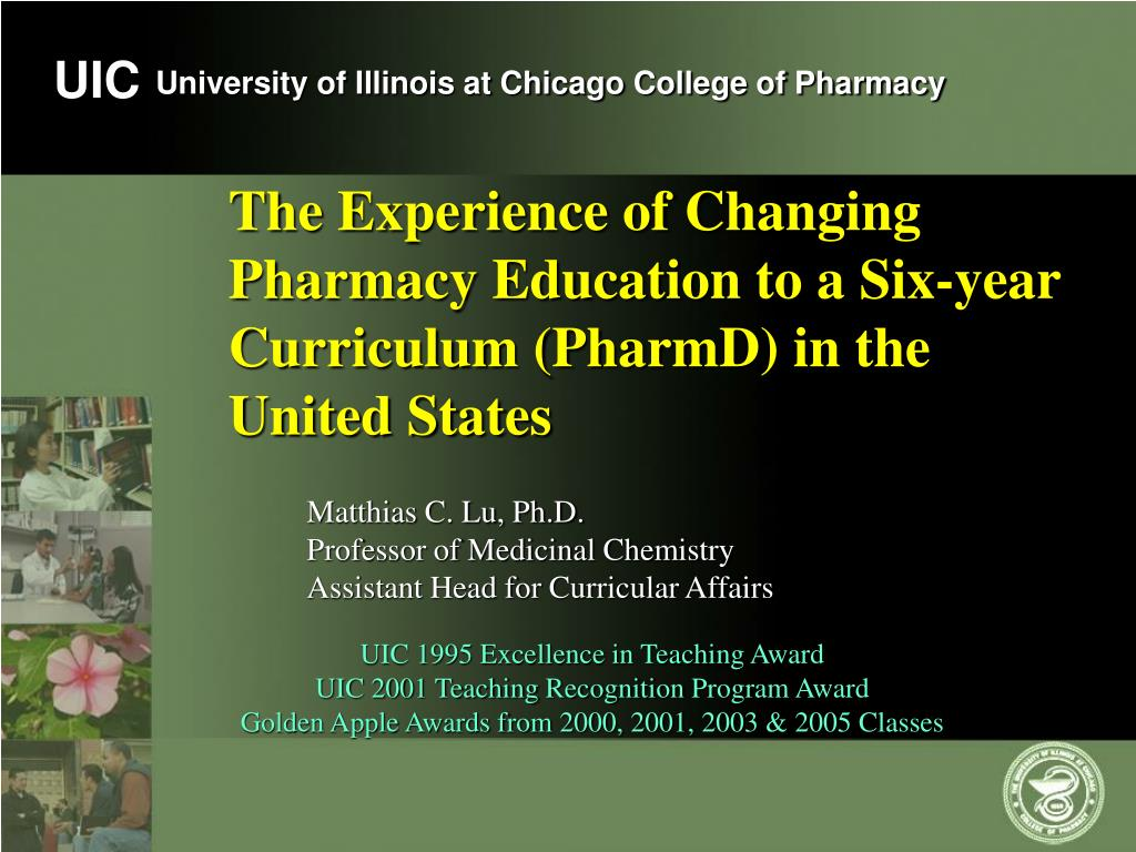 the experience of changing pharmacy education to a six year curriculum pharmd in the united states l.