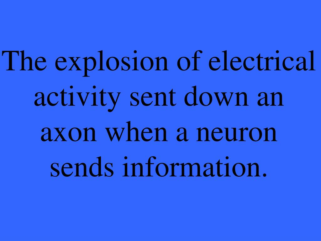 The explosion of electrical