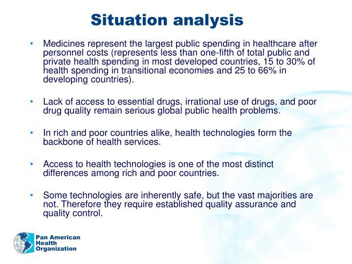 situation analysis outline