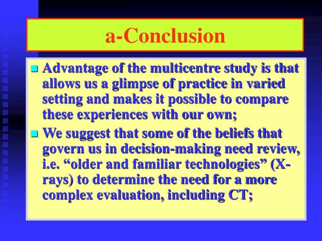 a-Conclusion