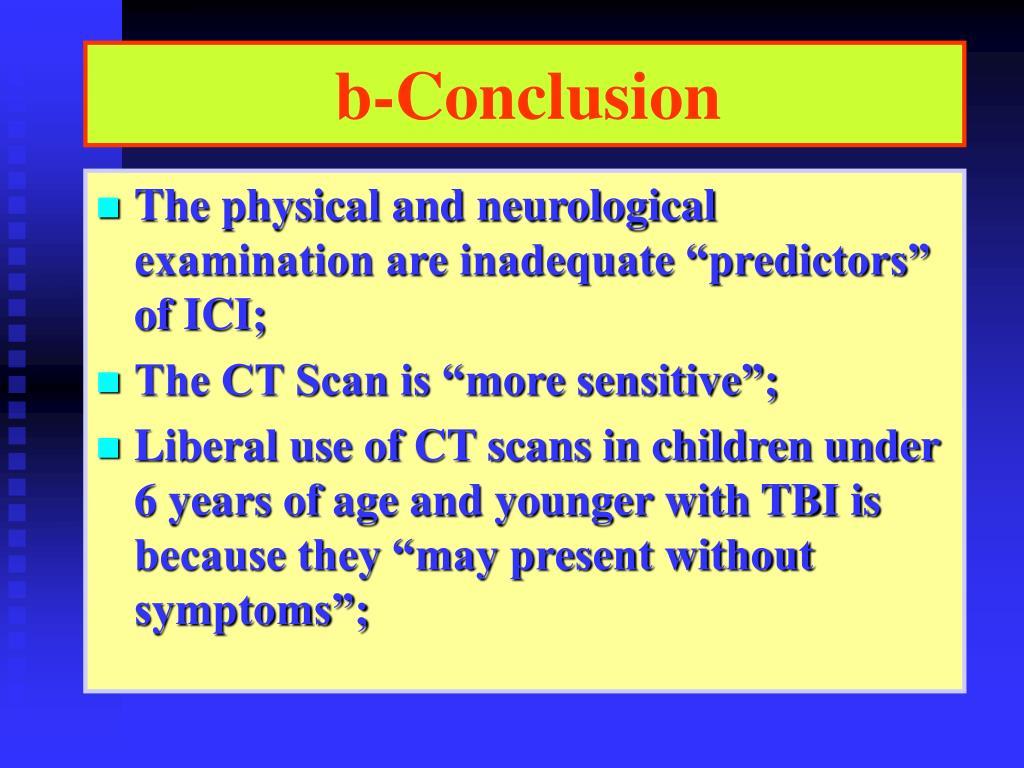 b-Conclusion