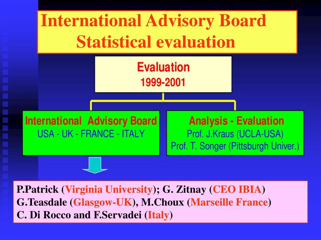 International Advisory Board