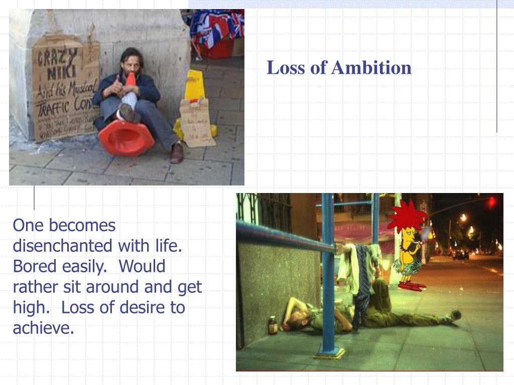 Loss of Ambition