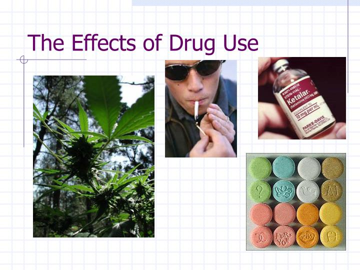the effects of drug use n.