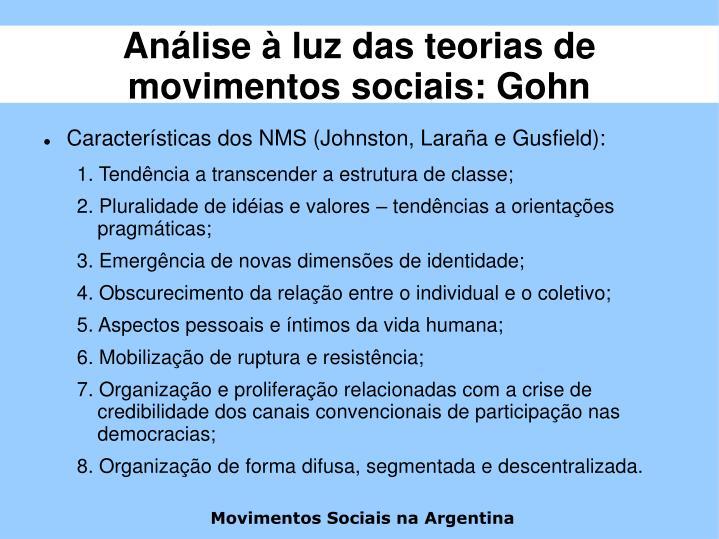 Movimentos Sociais na Argentina