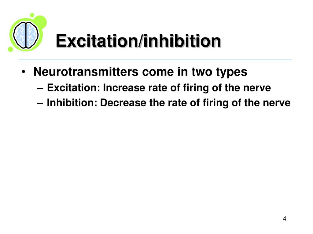 Excitation/inhibition